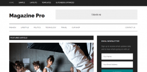 magazine pro theme review