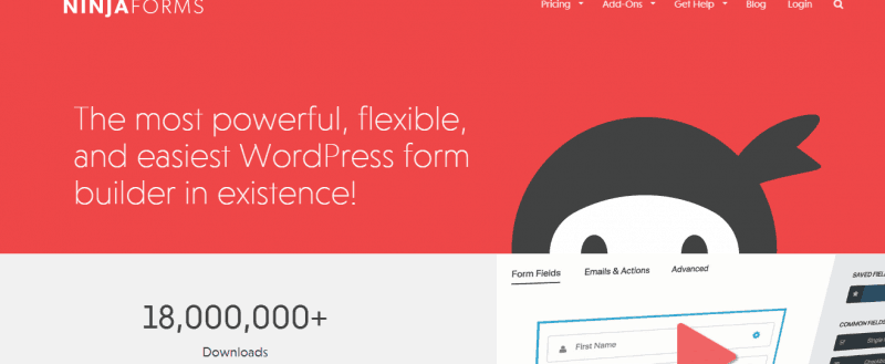 Ninja Forms Review: Feature Rich WordPress Form Builder Plugin