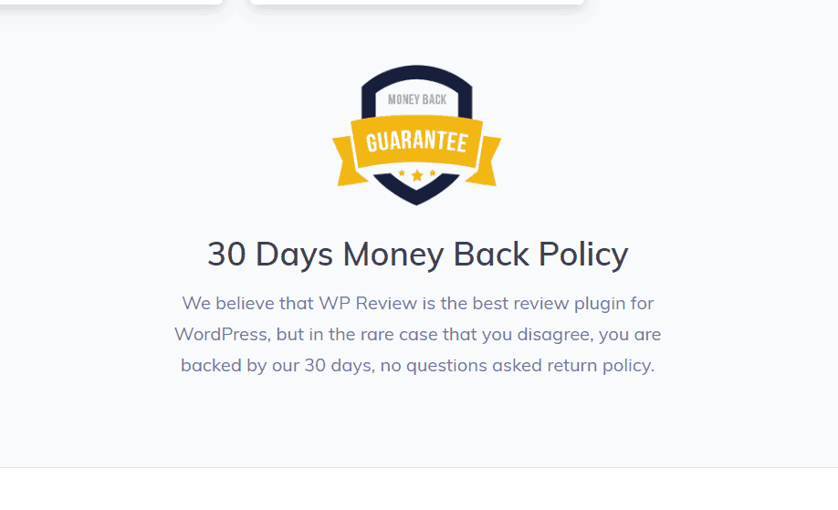 money back guarantee in mythemeshop