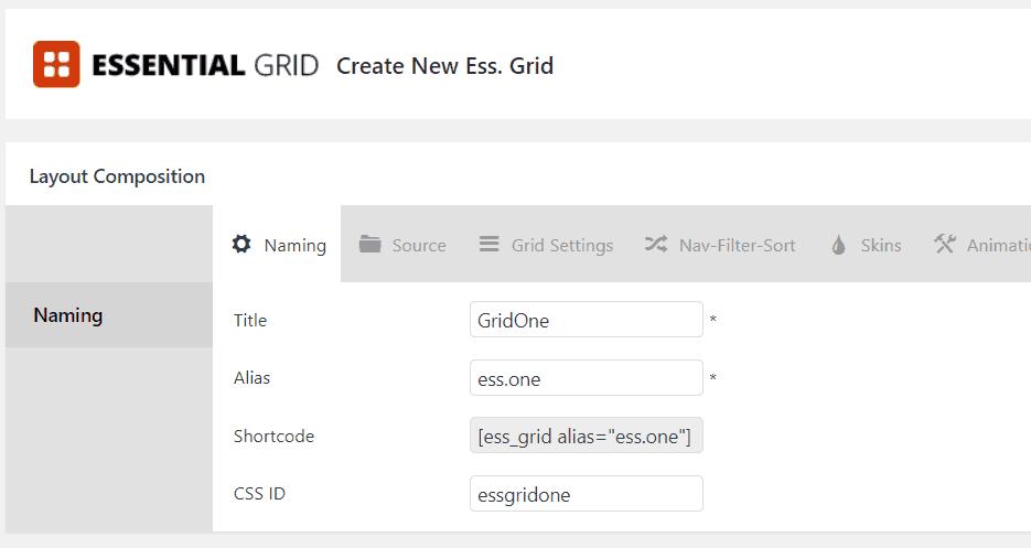 ess grid details