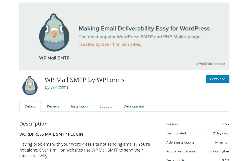 wp mail smtp free plugin