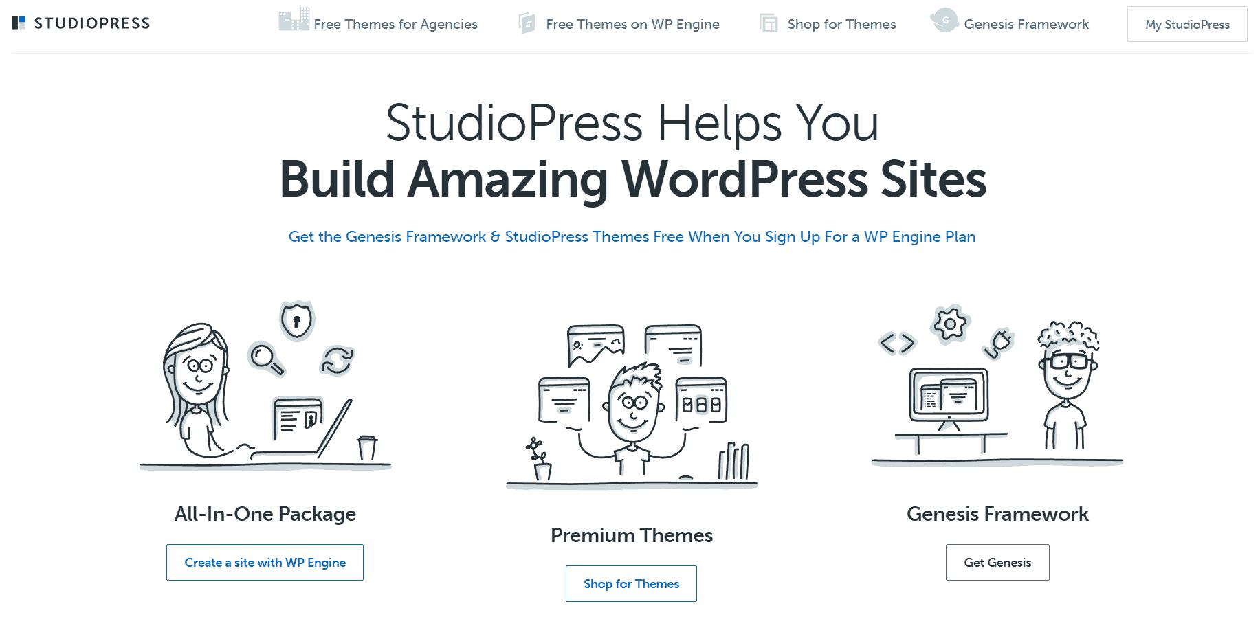 studiopress themes