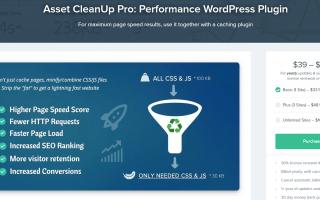asset cleanup pro plugin