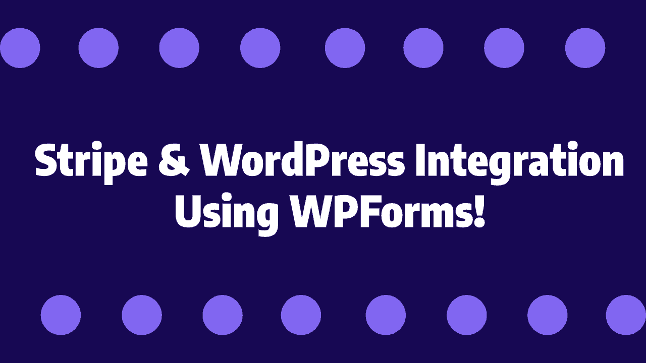 connect stripe with wordpress