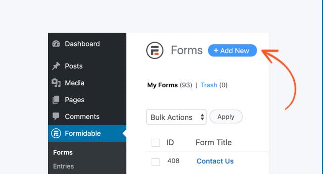 add quiz form